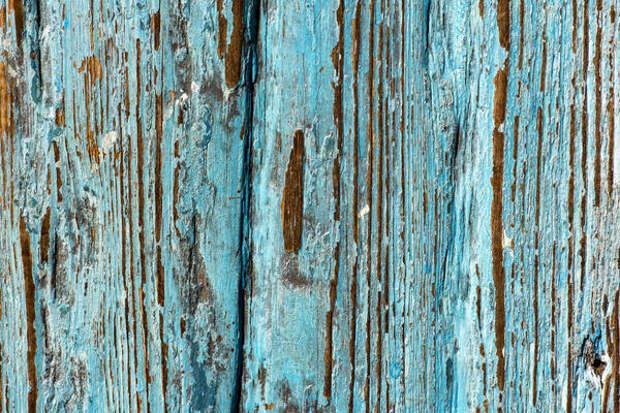 Старая краска на мебели