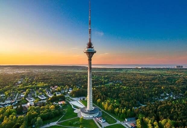 Таллиннский телецентр был построен к московской Олимпиаде-80 и по-прежнему остается визитной карточкой столицы Эстонии
