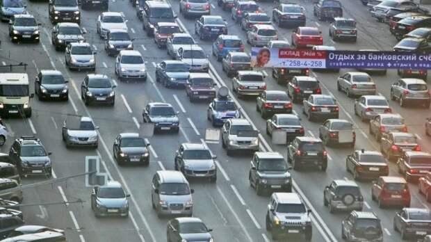 ЦОДД высчитал среднюю скорость движения по московским магистралям