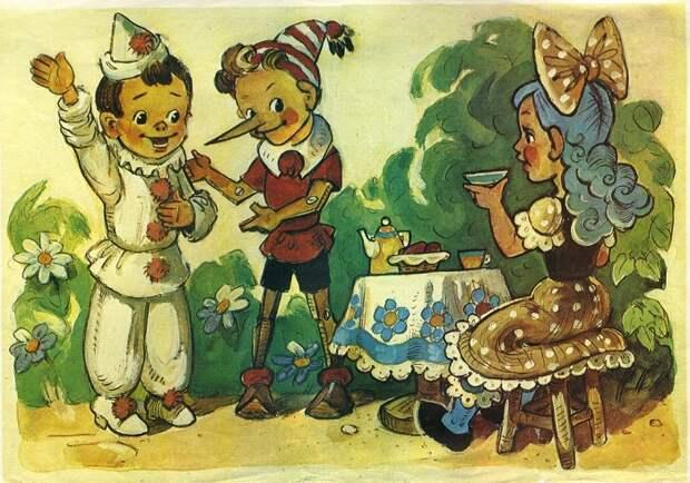 Как Пиноккио стал Буратино, или Советские двойники героев известных зарубежных сказок