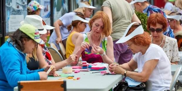 В проекте «Московское долголетие» откроются группы, свободные от ковид