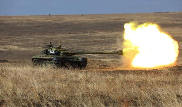 На«Танковый биатлон» отправились военнослужащие Ростовской области