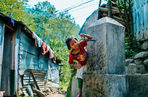 Пить некипяченую воду в мире, интересно, люди, непал, обычай, правила, путешествие