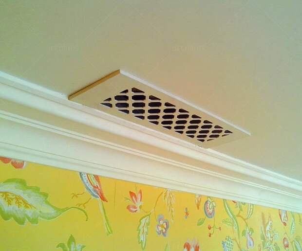 На вентиляционной решетке скапливается много пыли. / Фото: decorios.ru