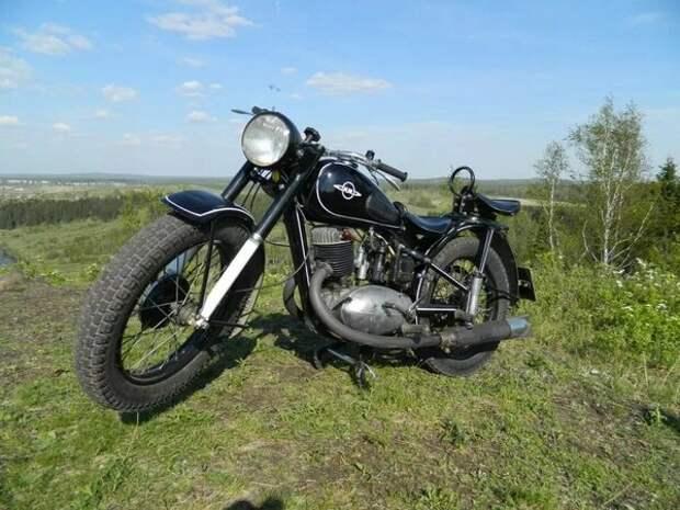 С чего начинались мотоциклы ИЖ, древний ИЖ 49
