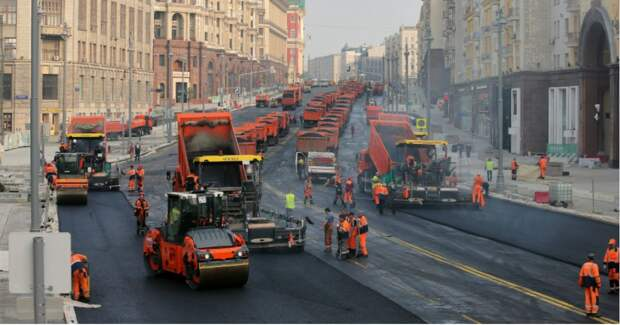 Фото На благоустройство Москвы за год потратили 281 миллиард. Это хорошо?