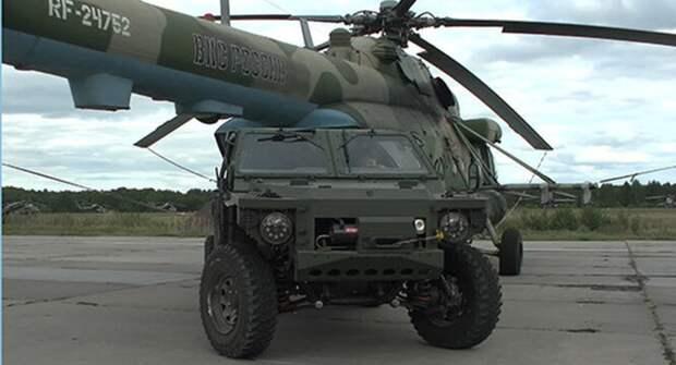 Военные испытания багги «Сармат-2»