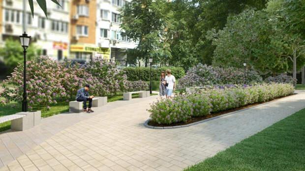 Сквер. Фото: mos.ru