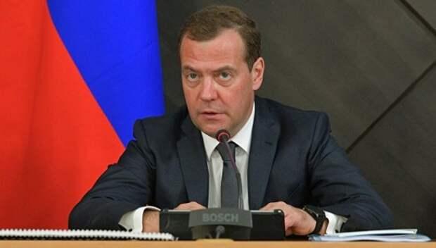 Реакция Медведева на слова Путина о пенсиях