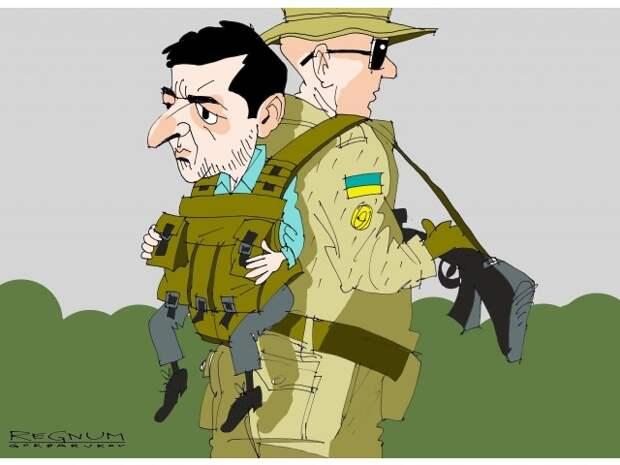 Украина в петле свободы, или Зе в Чёрном вигваме