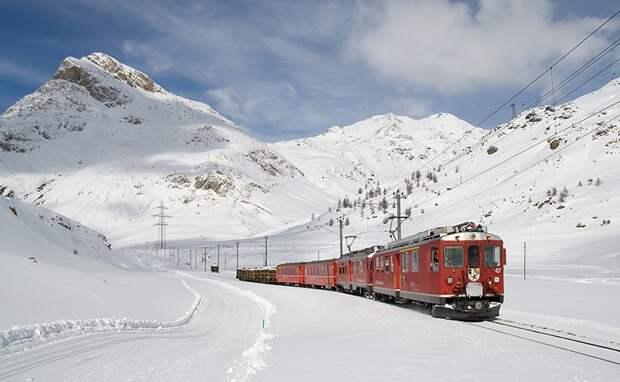 Chbahns57 Топ 5 самых необычных железных дорог Швейцарии