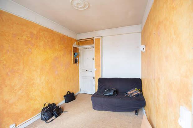 До и после: Студия 27 кв.м. в Париже