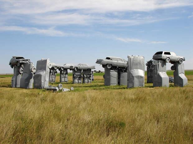Автомобильная арт-инсталляция Carhenge, Аллайянс, США, Северная Америка и Карибы