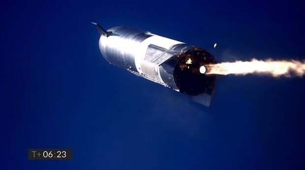 SpaceX снова разбился о купол Плоской Земли