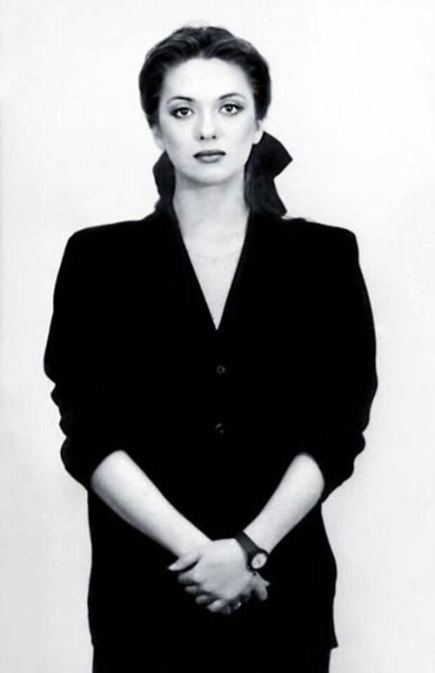 Ольга Дроздова в молодости