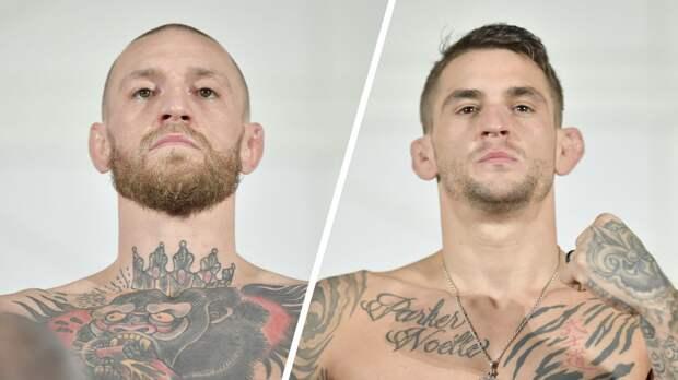 Макгрегор и Порье сделали вес перед боем на турнире UFC 257