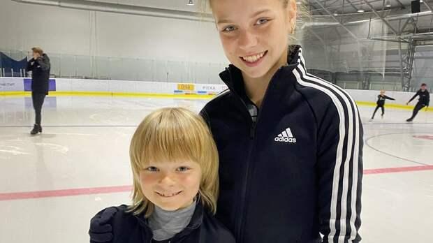 Сын Плющенко опубликовал фото с Трусовой: «Александра и Александр ❤️»