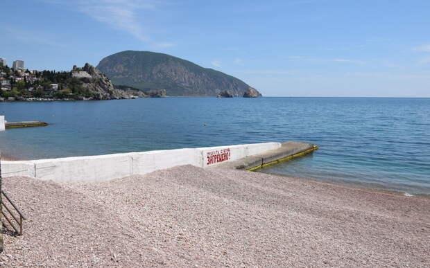 Роспотребнадзор запретил купаться на пляжах Крыма из подтопленных зон
