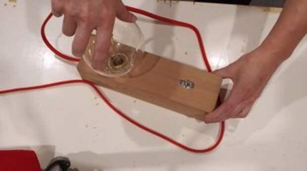Настольная лампа Эдисона своими руками