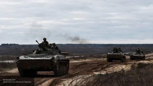 Украина получила партию боевых машин из Европы для войны в Донбассе