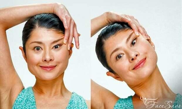 Йога для лица Мамады Йошико: работаем с глазами