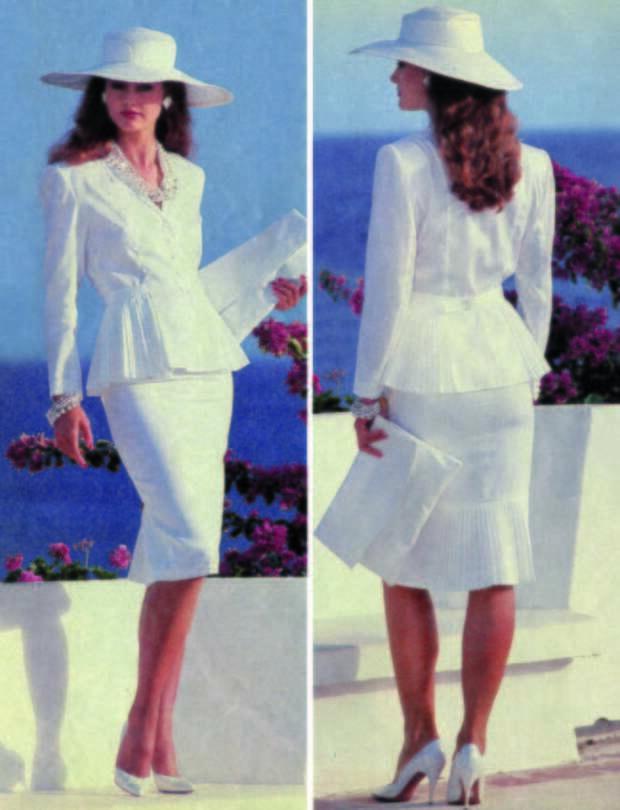 Легендарный костюм из журнала Бурда Моден. #красота, #мода, #одежда, #тренды