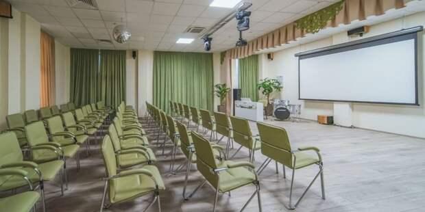 Собянин открыл новое здание клуба «Современник» на северо-западе Москвы