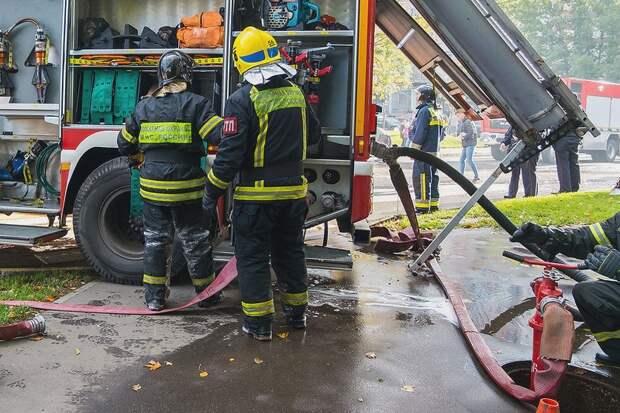 Пять человек пострадали в результате взрыва в Москве