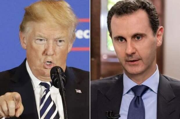 Дамаск ответил Трампу на «убить к чёрту» Асада: Это бандитский режим