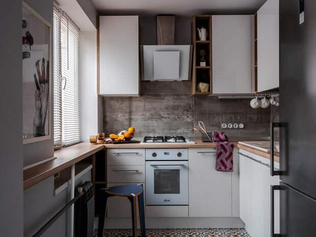 Наклонные вытяжки для кухни (18 идей)