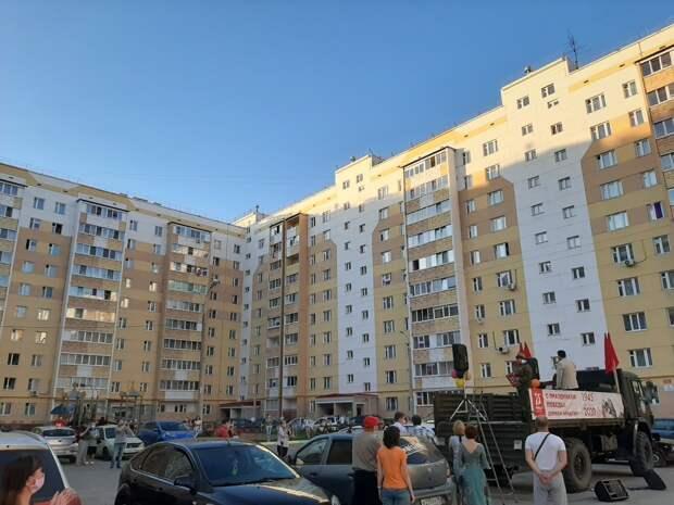 Ижевск присоединился к всероссийской акции «День Победы»