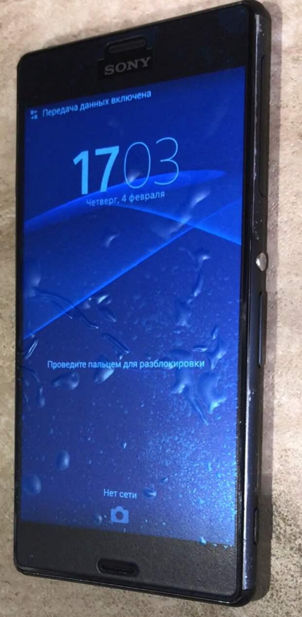 Восстанавливаем Sony Xperia Z3. Треш-ремонт #2.1