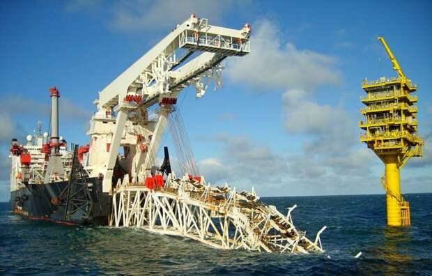 Дания запретила строительство «Северного потока-2» на два месяца