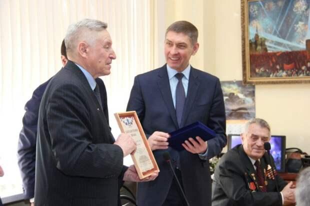 Ветераны из Северного округа приняли поздравления от префекта