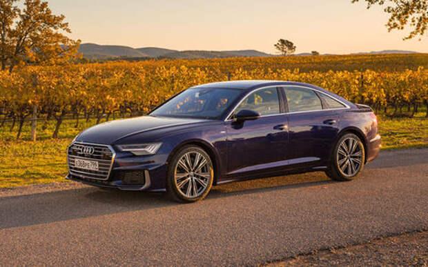 Audi везет в Россию новые модификации A6