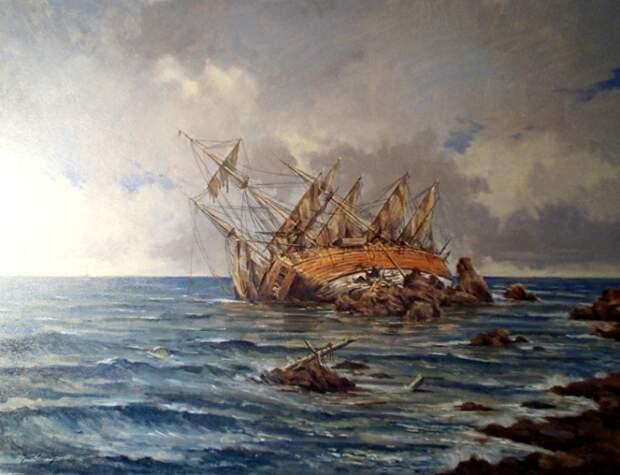 Открытия, связанные с кораблекрушениями