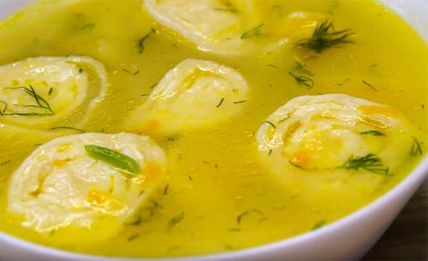 Суп для лентяев: собрали, что есть в холодильнике и сделали вкусноту