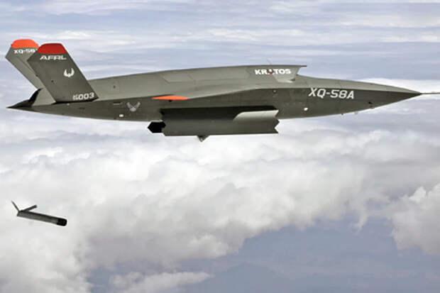 Ведомый F-22 и F-35 впервые выпустил ведомого