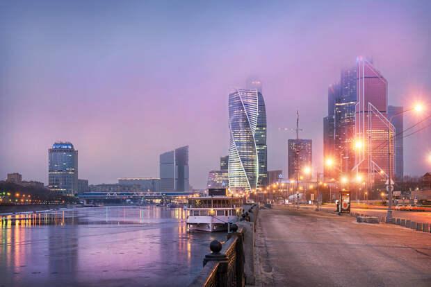 В Москве объявили жёлтый уровень погодной опасности