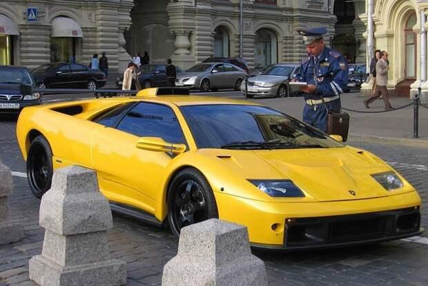 Lamborghini Diablo, которые катались по России и куда их увезли потом