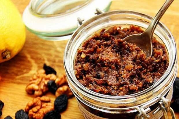 Паста Амосова – необходимые витамины и микроэлементы для ума и сердца