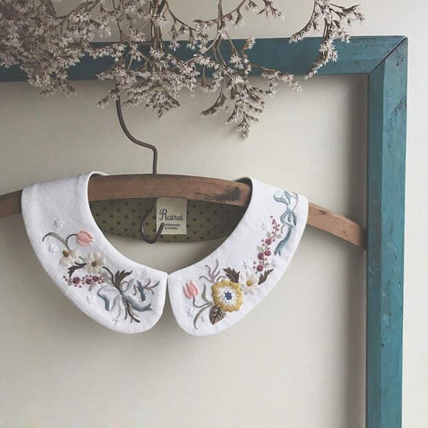 Фото - 6 Невыносимая нежность бытия: потрясающая вышивка Wakako Horai