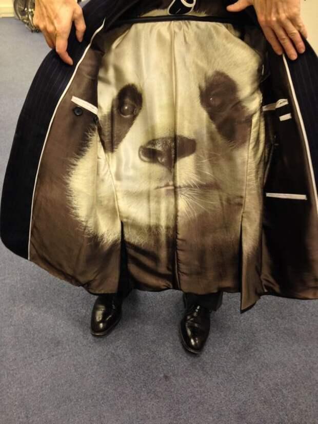 Панда-подкладка