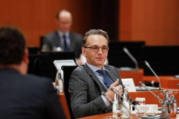 German Foreign Minister Heiko Maas attends the weekly cabinet meeting of the German government at the Chancellery in Berlin, Germany October 7, 2020. Markus Schreiber/Pool via REUTERS