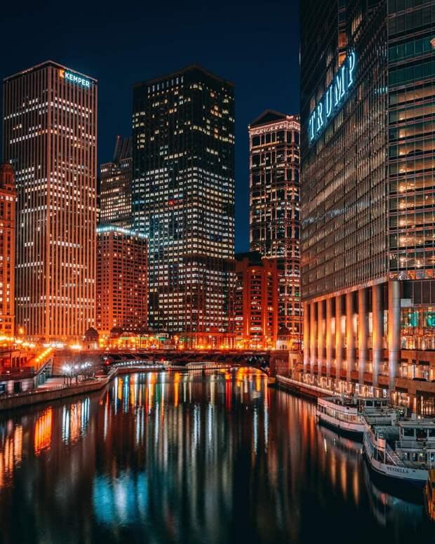 Мир американских городов на атмосферных снимках Ника Кроуфорда