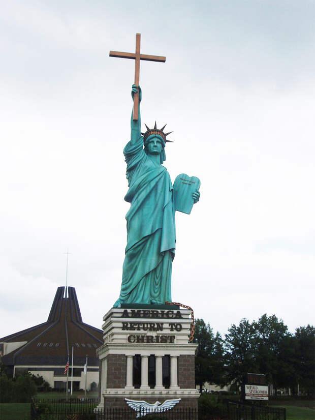 Статуя Освобождения через Христа, Мемфис, США, Северная Америка и Карибы