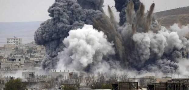 ВКС России нанесли удар по террористам на западе Сирии