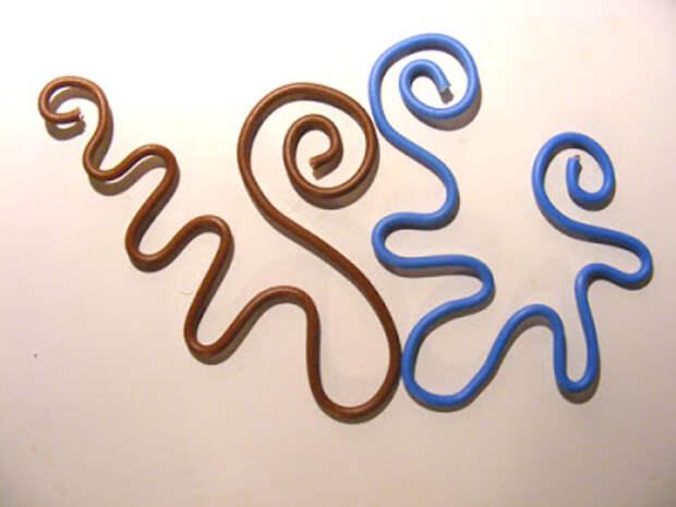 Декор при помощи проволоки, пряжи и крючка