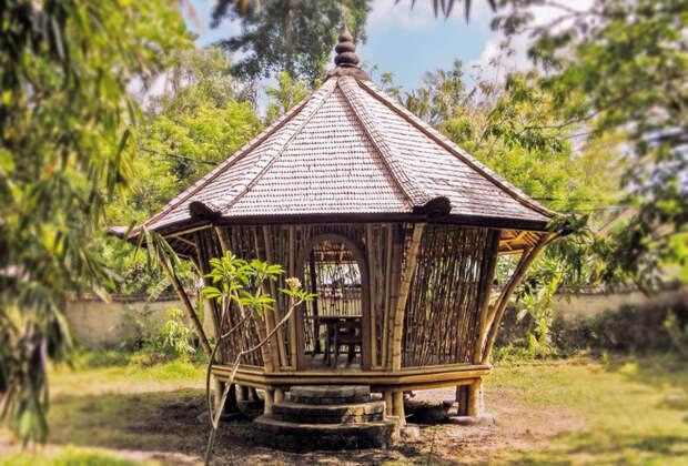 Бамбуковая архитектура нарушающая законы физики