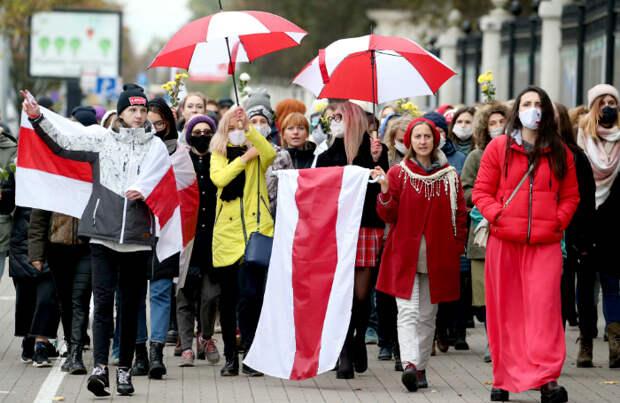 В Минске снова несанкционированные акции протеста — «Марш студентов» и «Женский марш»